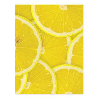Citroner Vykort