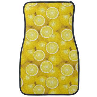 Citronmönster 2 bilmatta