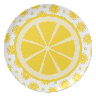 Citronskiva Tallrik
