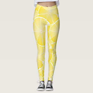 Citronskivor Leggings