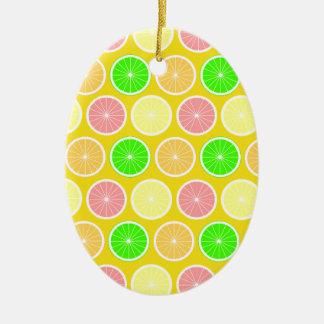 Citrus Julgransprydnad Keramik