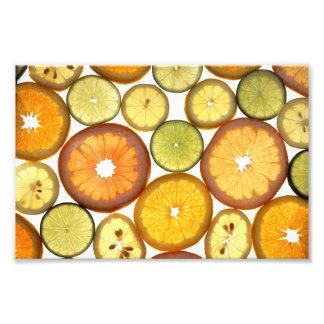 Citrusfrukter Fototryck
