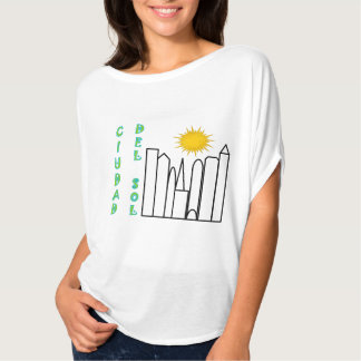 """""""Ciudad del Solenoid"""" flöda som är bästa T Shirt"""