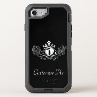 Claddaghen (vit) OtterBox defender iPhone 7 skal