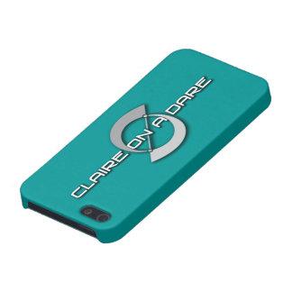 Claire på ett fodral för utmaninglogotypiPhone 5 iPhone 5 Cases
