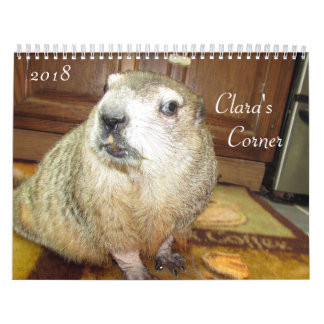 Claras 2018 tränga någon Groundhog kalender B