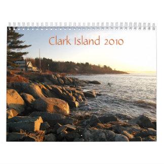 Clark ö 2010 kalender