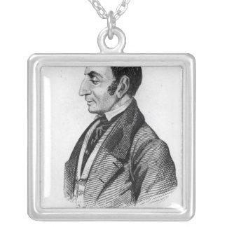 Claude Henri de Rouvroy Comte de Sanktt-Simon Silverpläterat Halsband