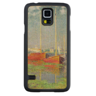 Claude Monet | Argenteuil, c.1872-5 Maple Galaxy S5 Slim Case