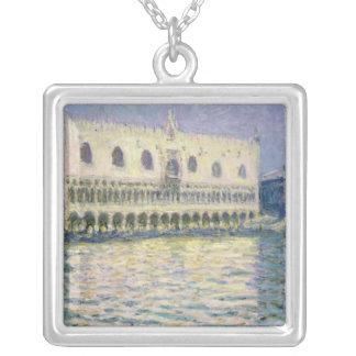 Claude Monet | den Ducal Slotten, Venedig, 1908 Silverpläterat Halsband