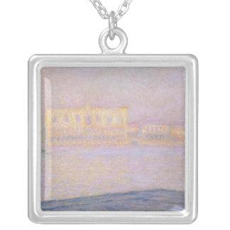 Claude Monet | Ducal slott från San Giorgio, 1908 Silverpläterat Halsband