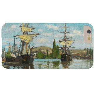 Claude Monet frakter som rider på Seinen på Rouen Barely There iPhone 6 Plus Skal