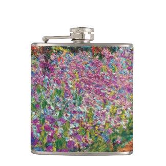 Claude Monet - Irises i Monets trädgårds- konst Fickplunta