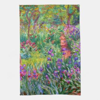 Claude Monet: Iristrädgården på Giverny Kökshandduk