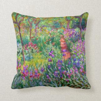 Claude Monet: Iristrädgården på Giverny Kudde