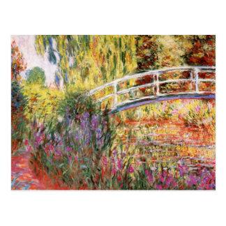 Claude Monet konst Vykort