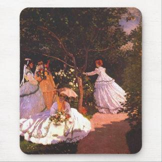 Claude Monet //kvinnor i trädgården Musmatta