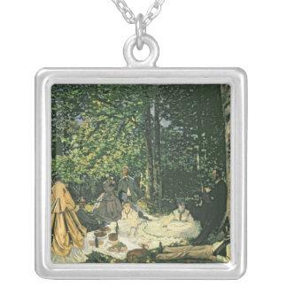 Claude Monet | Le Dejeuner surl'Herbe, 1865-1866 Silverpläterat Halsband
