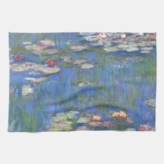 Claude Monet //näckrosor Kökshandduk