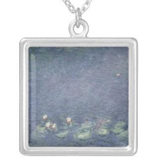 Claude Monet | näckrosor: Morgon 1914-18 Silverpläterat Halsband