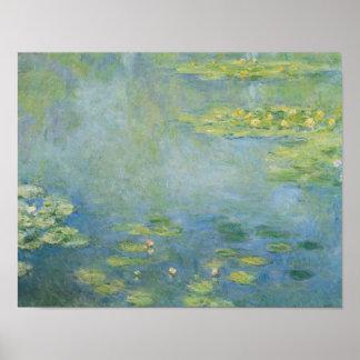 Claude Monet - näckrosor Poster