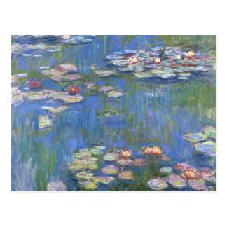 Claude Monet //näckrosor Vykort