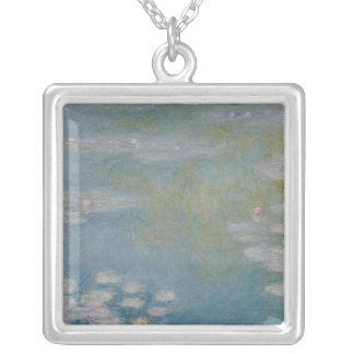 Claude Monet | Nympheas på Giverny, 1908 Silverpläterat Halsband