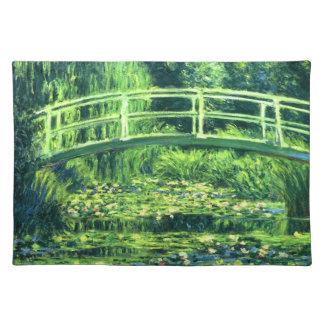 Claude Monet: Överbrygga över ett damm av Bordstablett