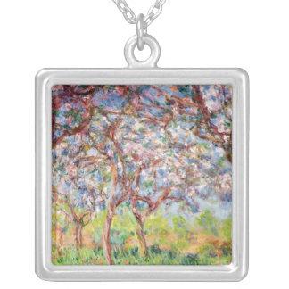 Claude Monet | Printemps en Giverny, 1903 Silverpläterat Halsband