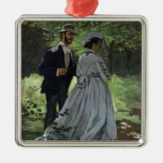 Claude Monet | Promenadersen, Bazille, Camille Julgransprydnad Metall