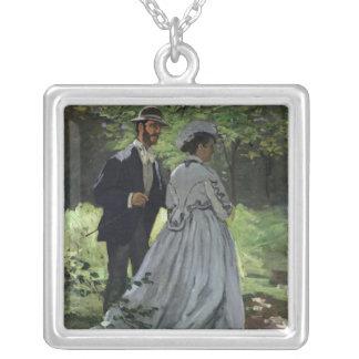 Claude Monet | Promenadersen, Bazille, Camille Silverpläterat Halsband