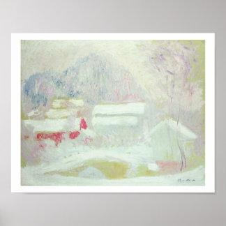 Claude Monet | Sandviken, norge Poster