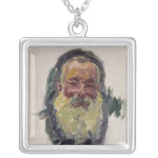 Claude Monet | självporträtt, 1917 Silverpläterat Halsband