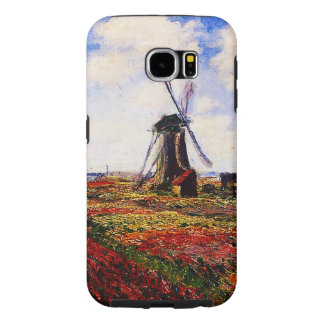 Claude Monet-Tulpan fält Galaxy S5 Fodral
