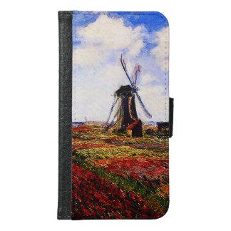 Claude Monet-Tulpan fält Plånboksfodral För Samsung Galaxy S6