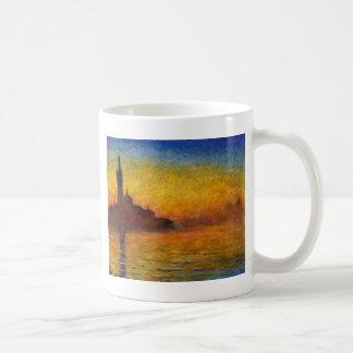 Claude Monet //Venedig skymning Kaffemugg