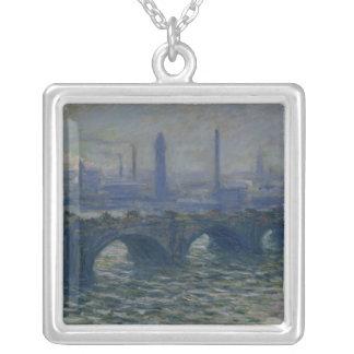 Claude Monet | Waterloo överbryggar, 1902 Silverpläterat Halsband