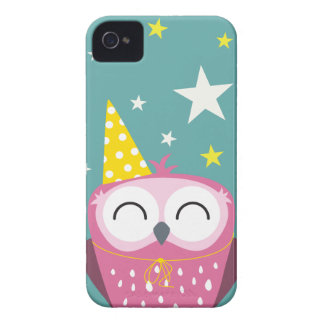 Claudette partyuggla iPhone 4 Case-Mate fodral