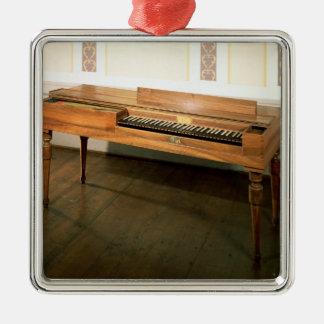 Clavichord som ägas en gång av Franz Joseph Haydn Julgransprydnad Metall