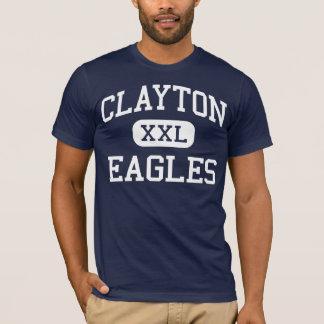 Clayton örnar mellersta Clayton North Carolina T Shirt
