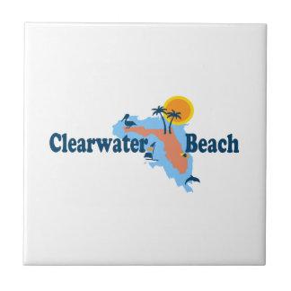 Clearwater Florida - kartadesign Kakelplatta