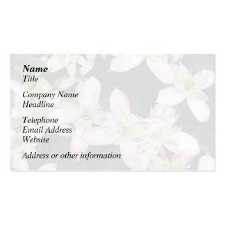 clematis blommor, rosor, trädgård+blommor blomma,  visit kort