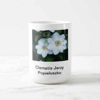 Clematis Jerzy Popieluszko Kaffemugg