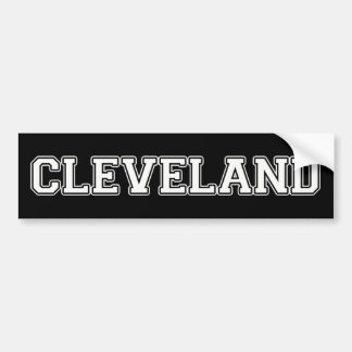 Cleveland Bildekal