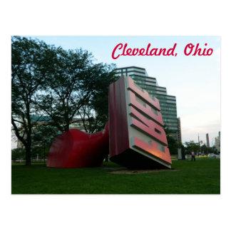 Cleveland (fri Landmark) vykort