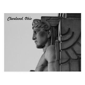 Cleveland OH överbryggar vykortet för förmyndaren Vykort