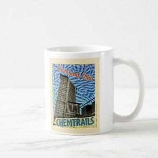 Cleveland Ohio Chemtrails: bedragareogräset Kaffemugg