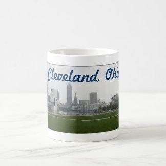 Cleveland Ohio horisontmugg Kaffemugg
