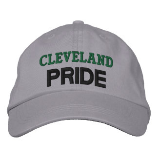 Cleveland pridelock broderad keps