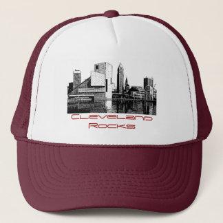 Cleveland stenar truckerkeps